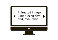 Animated Bootstrap image slider using HTML and JavaScript